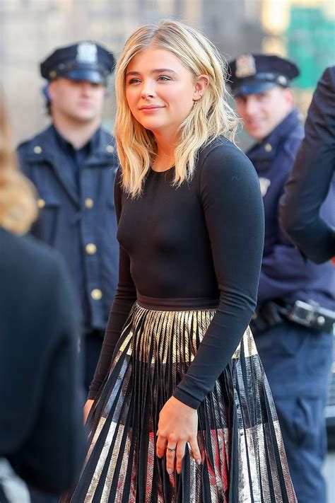 Chloe Grace Moretz Pokies The Blonde Salad