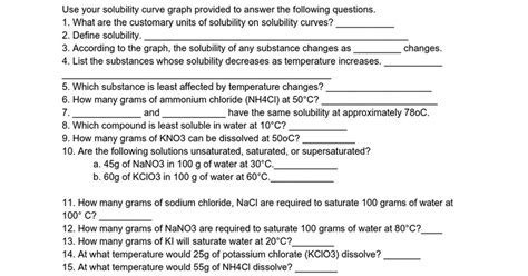 solubility worksheet homeschooldressage