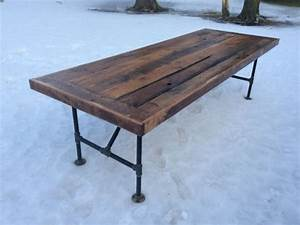 Reclaimed Wood Dining Table Kijiji - WoodWorking Projects