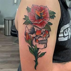 Top 77 Best Skull And Rose Tattoo Ideas  U2013  2020