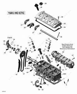 Sea Doo 2012 Rxt - Rxt 260  Is   Cylinder Head
