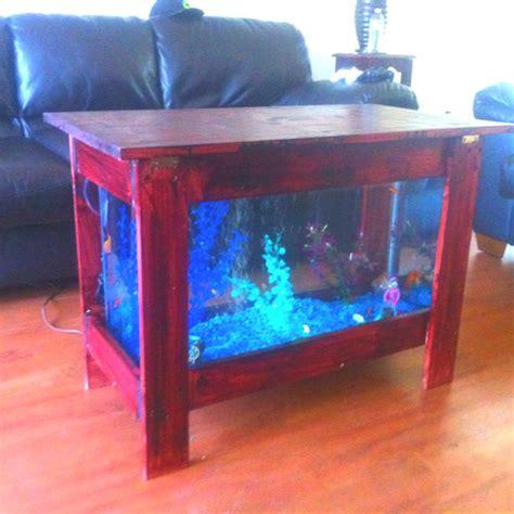 pin  rachel hudgins  fish tanks fish tank table