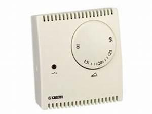 Thermostat D Ambiance : thermostat d 39 ambiance avec commutateur contact caleffi ~ Edinachiropracticcenter.com Idées de Décoration