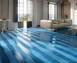parquet a lames courbes sinuosites emois et bois With parquet bleu
