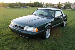 VERY RARE! 5-SPEED- 1990 Ford Mustang LX 25th Anniversay Limited Edition (7up)