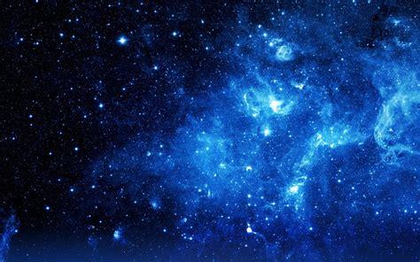 Galaxy Of Lights by Blue Galaxy Wallpaper