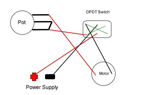 How Wire Dpdt Rocker Switch For Reversing Polarity