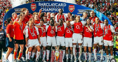 Legendary Teams: Arsenal's Invincibles Highlighted The ...