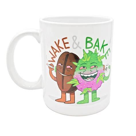Самые новые твиты от wake&bake coffee mug (@smokingpipemug): Coffee/Tea Mug - Wake&Bake | Plant of Life