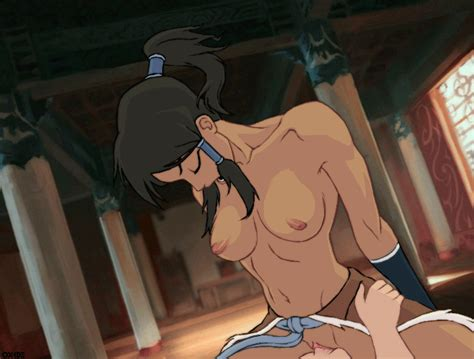 Анимация голая Корра из Аватара