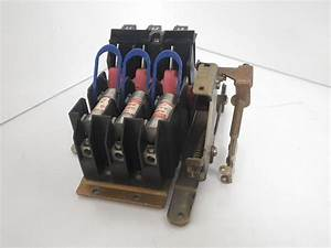 Lr44199 Square D Disconnect Switch With Fuse 30amp 600vac
