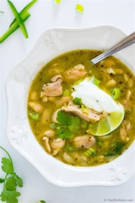 chicken tomatillo chili tomatillo chicken chili slow cooker
