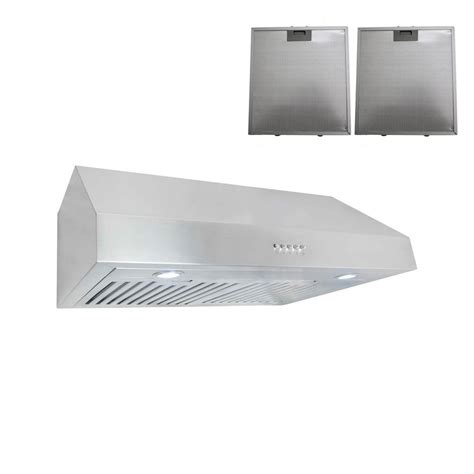 recirculating range cabinet cosmo 30 in ductless cabinet range in