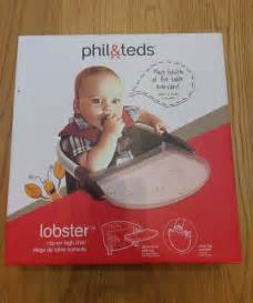 phil and teds lobster high chair tray phil teds lobster portable baby high chair seat black