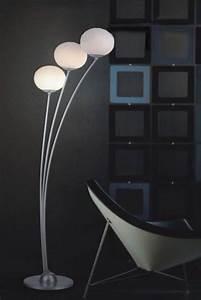 floor lamp contemporary floor lamps unique walmart With designer glass floor lamp