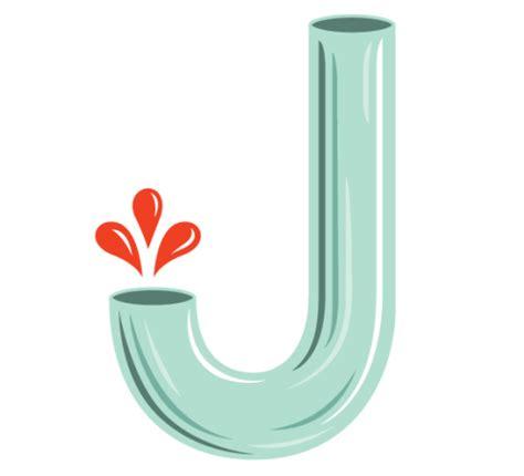 the letter j letter j on
