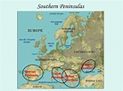 Geography of europe physical features