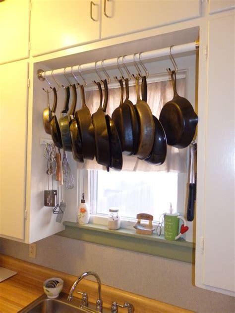 partial progress pot rack hanging pot rack pot hanger kitchen