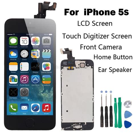 repair iphone 5s screen set lcd touch screen digitizer assembly replacement