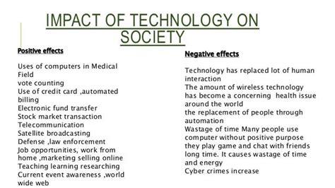 impact  technology medical technology