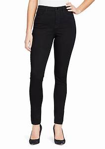 Juniors Jeans Size Chart Bandolino Thea High Waisted Jeans Belk