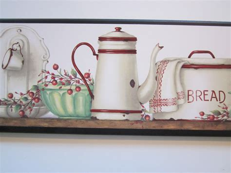 enamelware wall decor plaque vintage style country kitchen