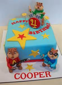 alvin and the chipmunks cake cakecentral com