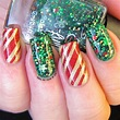 Candy Canes and Stars - It's All About the Polish | Candy ...