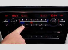 Climate Control Buttons BMW Genius HowTo YouTube