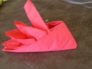 Pliage Serviette En Papier : pliage de serviette en papier pour la table ~ Melissatoandfro.com Idées de Décoration