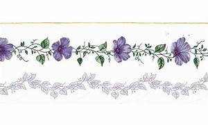 Lavender Flowers Border | Free Wallpaper
