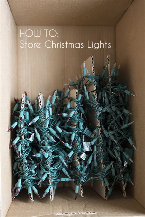 21 creative christmas decoration storage ideas
