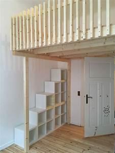 Hochbett Bauen Lassen : die besten 25 treppe dachboden ideen auf pinterest ~ Michelbontemps.com Haus und Dekorationen