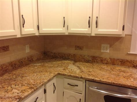 Ideas For Above Kitchen Cabinets - mac s before after solarius granite countertop backsplash design granix