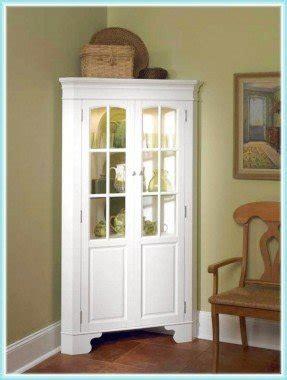 corner curio cabinets white curio corner cabinet foter