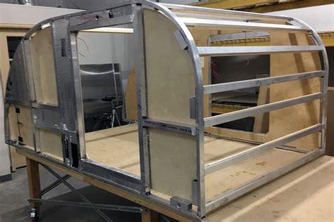 teardrop aluminum frame diy caravans
