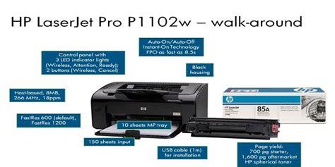 spesifikasi printer hp laserjet pro pw  harga terbaru