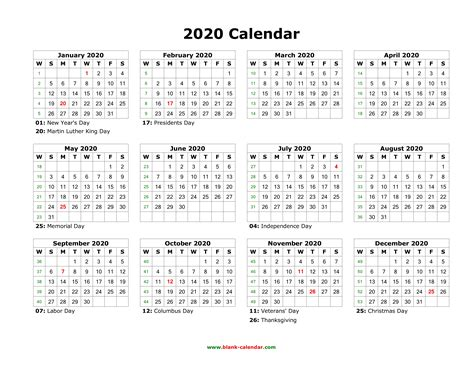 calendar printable calendar yearly