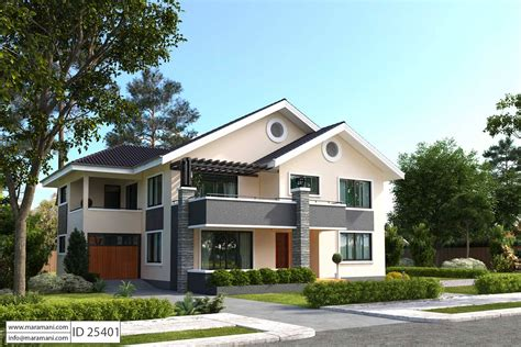 5 Bedroom House Plan ID 25401 Floor Plans by Maramani