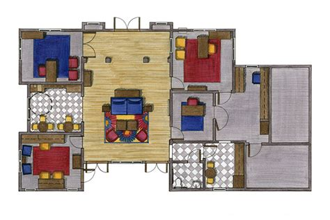 rendering   interior  scad portfolios