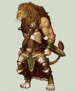 Lion Warrior by koutanagamori on DeviantArt