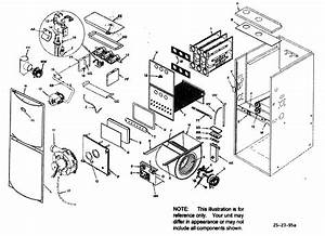 Armstrong Furnace Parts Diagram Icp 90  Single Stage Gas Furnace Parts