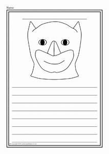 Superhero Colour And Write Worksheets  Sb9189