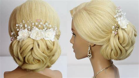 Wedding Hairstyle For Long Medium Hair Tutorial. Bridal