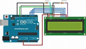 16 U00d72 Lcd Display Interface With Arduino