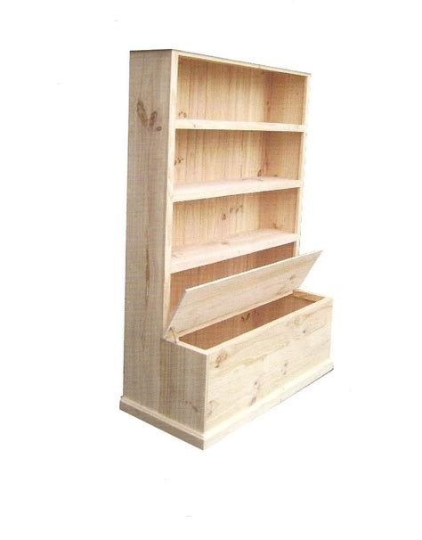 Bookcase Toybox by Bookcase With Toybox 6 X 4 C51 Larkos Furniture Store