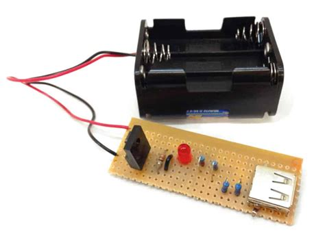 Portable Usb Charger Components Tools Build