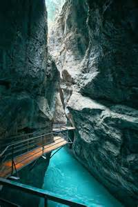 Switzerland Aare Gorge Canyon Walk