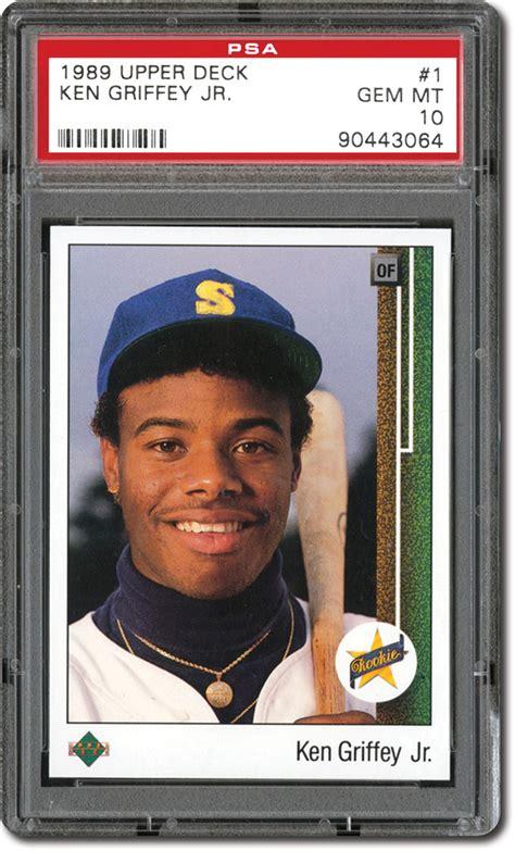 1989 deck ken griffey jr ebay collecting ken griffey jr baseball cards memorabilia