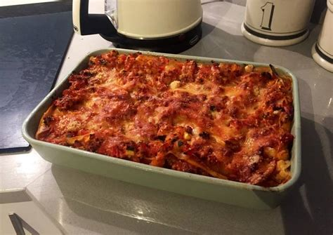 Lasagna Recipe With Cottage Cheese Vegetarian Lasagna With Cottage Cheese Recipe By Ben Cookpad